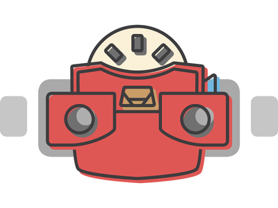Viewmaster free icon design