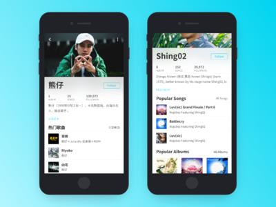 Daily_UI_006_Profile profile daily ui