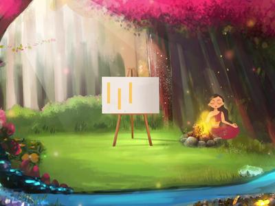 Project - Aranyani logo bag aranyani motiongraphics animation 2d design illustration artistic
