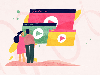 Video Websites like YouTube cover art blog video animation design websites igtv vimeo youtube