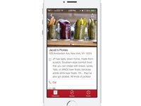 Thrillist App: Venue View
