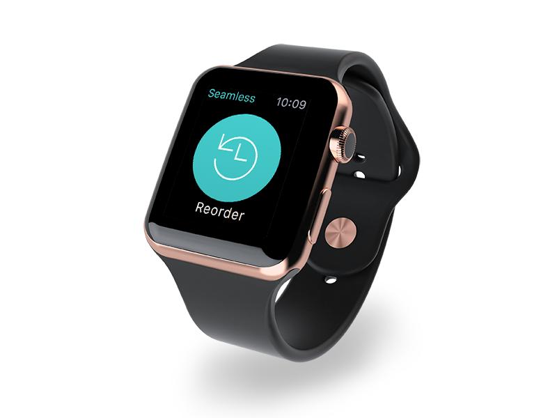 Seamless for Apple Watch ios seamless food watch watch apple watch