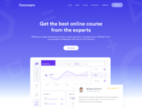 Online course home page