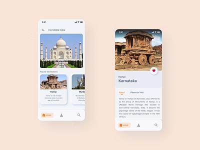 Travel App UI mobile app design android booking app product design user interface mobile ui mobile app ios uxdesign uidesign