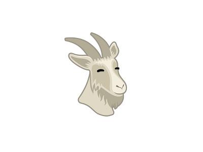 [For Sale] Goat Logo venezuela outsourcing face icon illustration mark logo goat