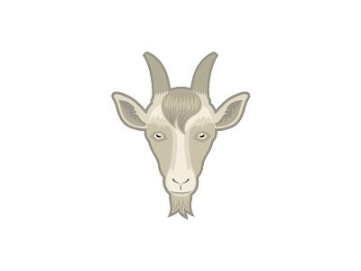 GOUT venezuela outsourcing face illustration mark logo goat