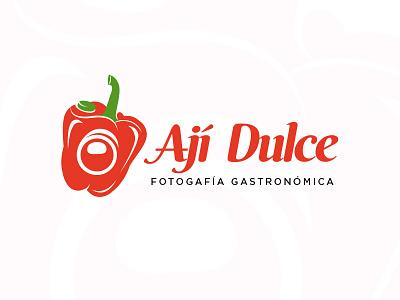 (WIP) Ají Dulce camera photo gastronomy foodporn flat logo photography food sweet aji