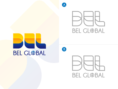 (WIP) A or B? engineering shapes design logo