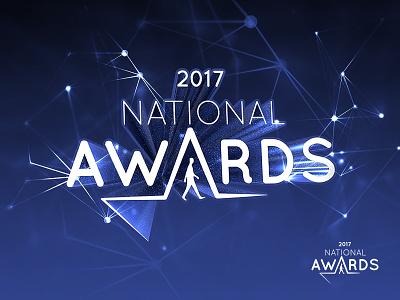 Logo for national awards cinema 4d blue awards fresh national event logo aiesec star