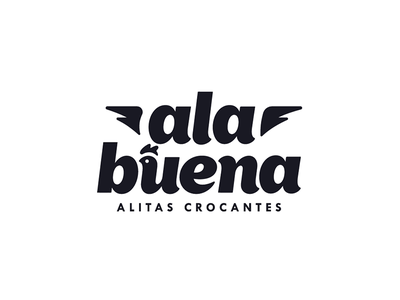 Colombian Chicken Wings Restaurant colombian venezuela vector spicy wings spicy restaurant mark logo wings hot food fastfood chicken chick blackwhite