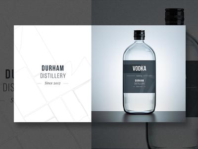 Durham Distillery - Exploration - Vodka
