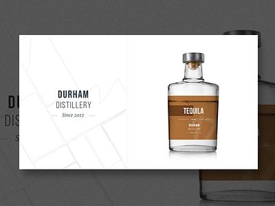 Durham Distillery - Exploration - Tequila tequila logo exploration design brand bottle alcohol