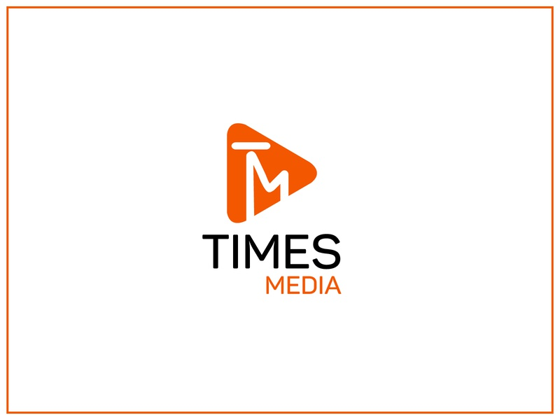 Logo Design media media player media logo icon illustration typography vector branding design logo concept logo deisgn logo design branding logo design logo a day logotype logo 2d logo