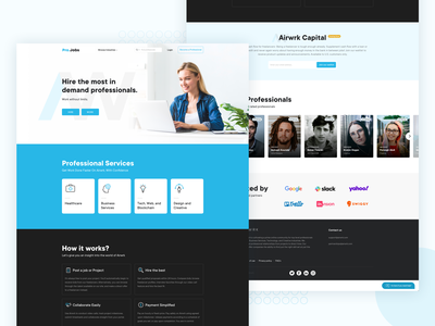 Web Home Page Design For Hire Professional By Avinash Koundal On Dribbble