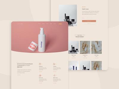 Beauty Clinic | Website Concept app web ux ui website webdevelopment webdesign uiuxdesign uiux design