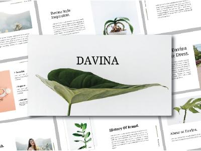DAVINA - Presentation Template