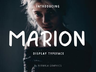 Marion - Display Font handwriting font font display handwritten font handwriting typeface display typeface display type display font font awesome font family font design fonts