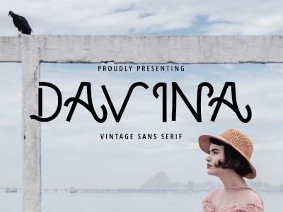 DAVINA - VINTAGE SANS SERIF