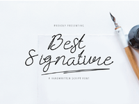 Best Signature Fonts