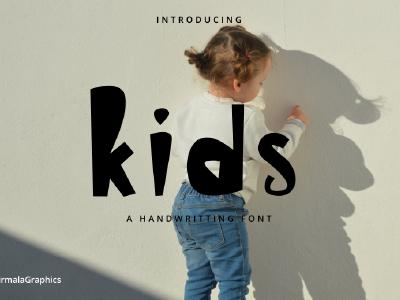 Kids - A Handwritten Font