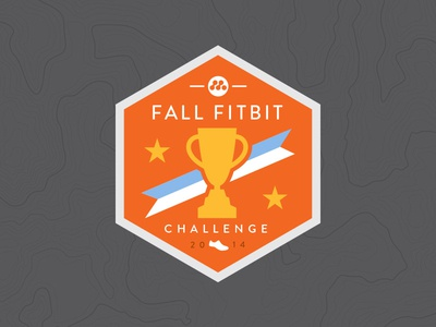 fall fitbit challenge badge