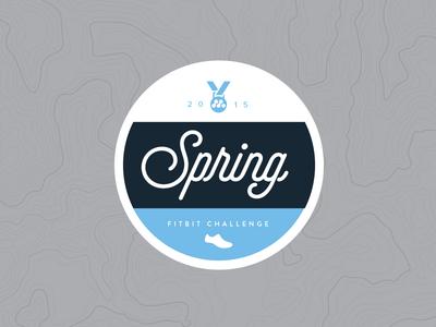 Spring Fitbit Challenge Badge