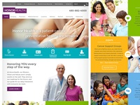 HonorHealth // Homepage