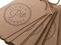 Flower Street Pie // Stamp & Kraft Tags