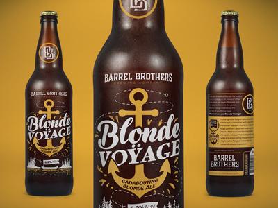Barrel Brothers // Blonde Voÿage