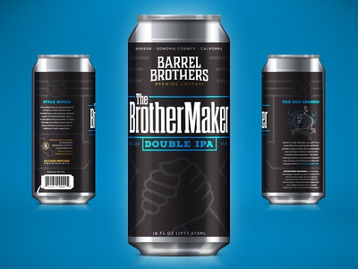 Barrel Brothers // The BrotherMaker Double IPA