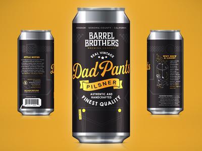 Barrel Brothers // Dad Pants Pilsner