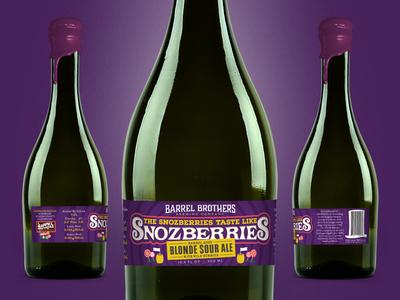 Barrel Brothers // The Snozberries Taste Like Snozberries