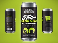Barrel Brothers // Hello Dankness My Old Friend 2.5x IPA