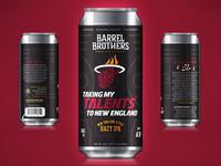 Barrel Brothers // Taking My Talents to New England Hazy IPA