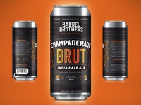 Barrel Brothers // Champaderade Brut IPA