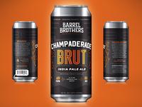 Barrel Brothers // Champaderade Brut IPA