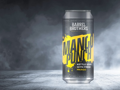 Barrel Brothers // Mango Punch Kettle Sour