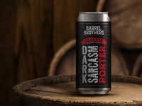 Barrel Brothers // Bourbon Barrel- Aged Dark Sarcasm Porter