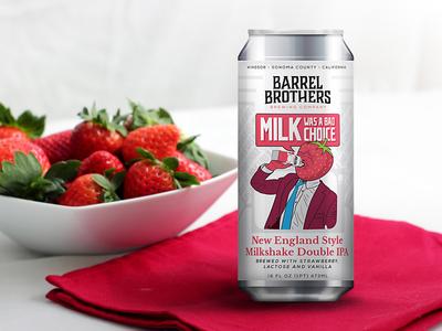 Barrel Brothers // New England Style Milkshake Double IPA