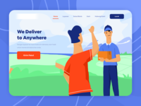 Delivery Everywhere - Landing Page