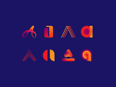 Alphabet Icon Challenge   Letter A