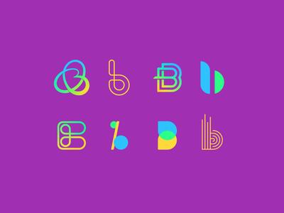 Alphabet Icon Challenge | Letter B