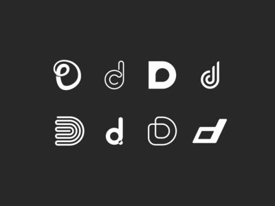 Alphabet Icon Challenge   Letter D