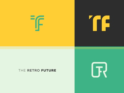 The Retro Future | YouTuber Icon Concepts | Practice