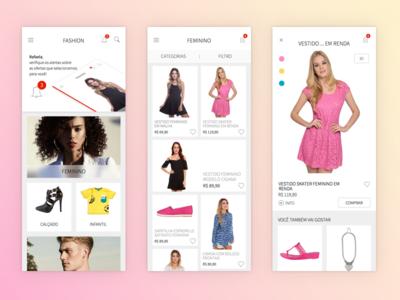 Fashion APP android ios mobile app fashion