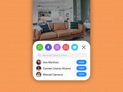 Social Share social share ui design user inteface ui social buttons social media buttons share buttons share button share