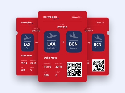 Boarding Pass boardingpass ticket ui design ui boarding pass boarding