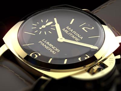 Panerai Watch Visualisation