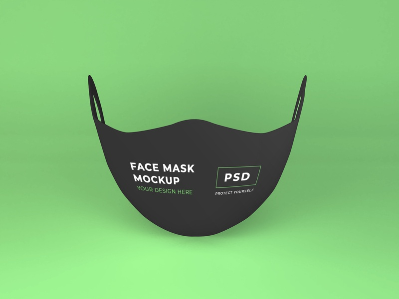 Free Face Mask Mockup Vol 1 danger respiratory corona virus health care protective protect design prevention pandemic epidemic virus medical mockup coronavirus template health safety protection face mask