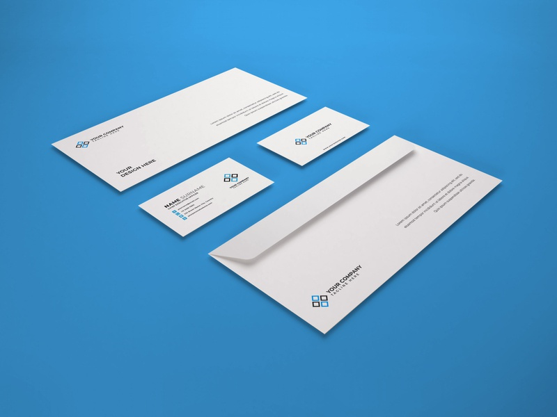 Download Stationery Set Mockup Vol 6 business card photoshop mockups branding identity psd paper 3d presentation stationery envelope corporate card mockup identity company business template